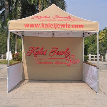 High quality folding market promotional display tent with OEM
