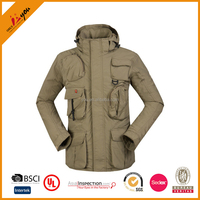 Spring and Autumn monolayer coats outdoor multi-pockets tourism clothing mens wear