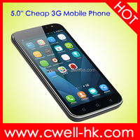 Lowest Price China Android Phone H-Mobile G7 MTK6735 Dual Core 5 inch Android 4.4 Mobile Phone RAM 512MB