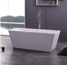 K-C38 bathroom one person hot tub used bathtub solid surface bathtub sizes
