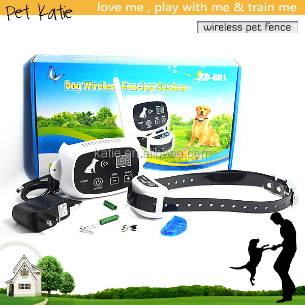 2016 Upgraded Max Up to 500 Meters Wireless Electric Dog Fence
