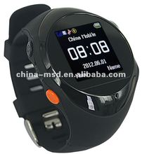 2012 promotional sales personal GPS tracker watch PG88 for child, elder and disable people