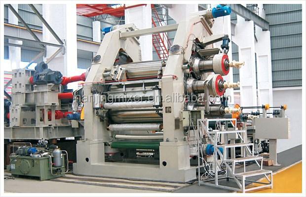Calendar Sheet Rubber : High quality rolls three roller rubber calender machine