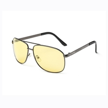 CIYUAN Wholesale 2018 New Products Lots Yellow Lens Metal Sunglasses