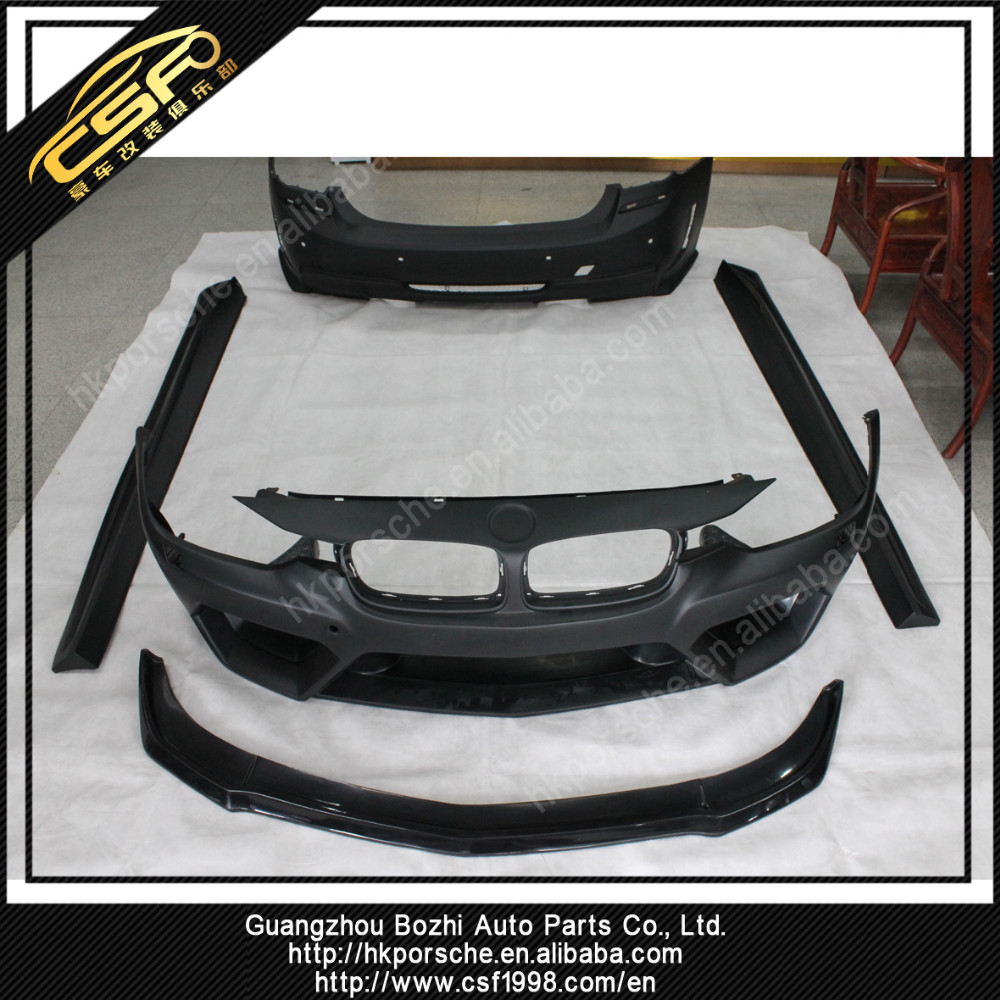 FRP Material F30 F35 AS Style Bumper/Spoiler/Auto Parts For BMW 3 Series