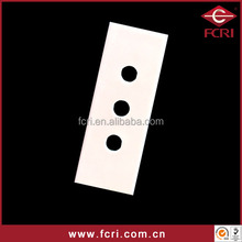 Ceramic three holes cutting blade