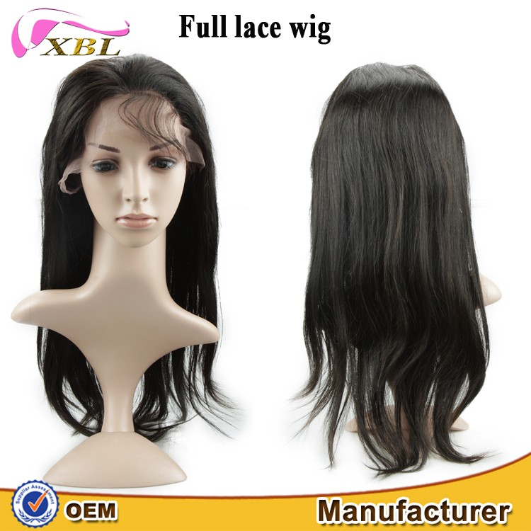 Hot selling! Factory Price for XBL Wig Manufacturer chinese virgin hair full lace wig
