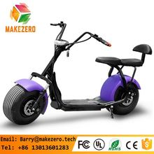 New products big two wheels citycoco 1000W 60V electric scooter, electric motorcycle