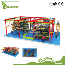 Sport Game Indoor playground equipment Huge park adult and kids commercial obstacle course