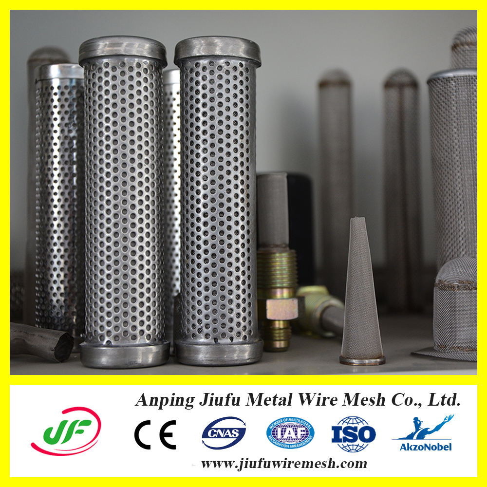 Low carbon steel resin trap wire mesh hydraulic oil filter