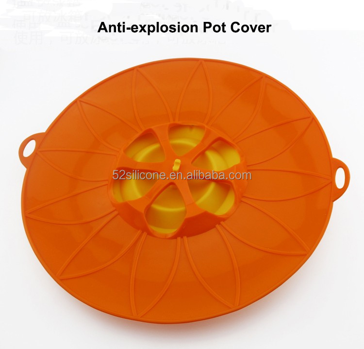 silicone microwave Reusable Silicone Suction Covers and Bowl Lids silicone pot lid cover