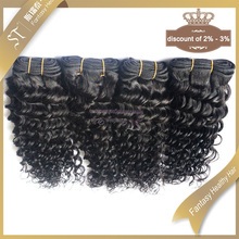 ST wholesale cheap human hair extension 18 inch deep wave non-remy raw indian hair wholesale, customized color is acceptable