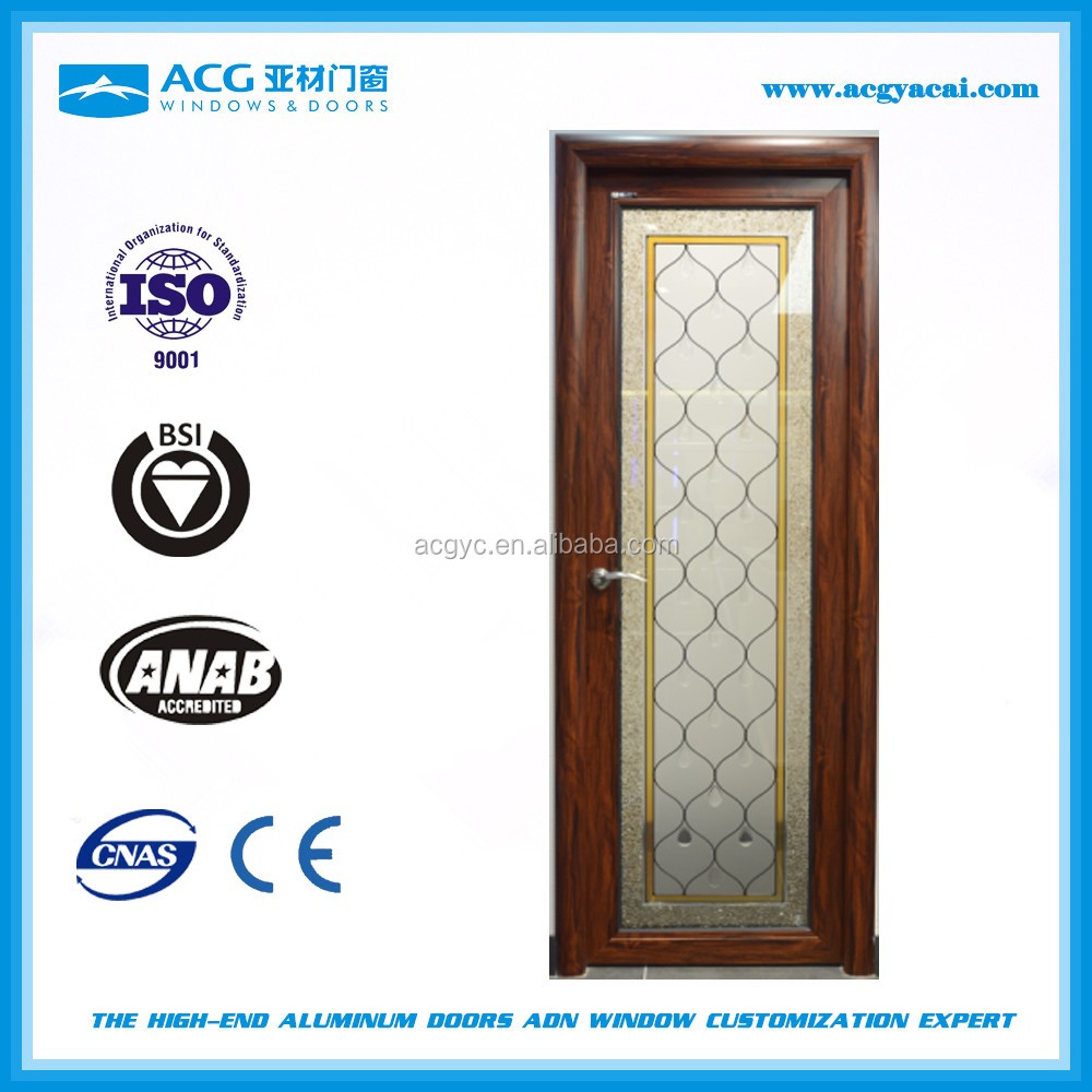 2016 high quality aluminum indian main door designs home made in china