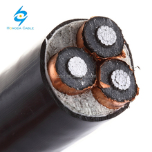 33kv XLPE 3 core power cable price for medium voltage