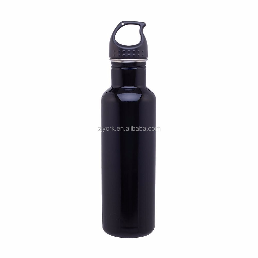Customized logo, colorful painting,<strong>eco</strong> friendly & BPA free,750ml single wall stainless steel drinking water bottle