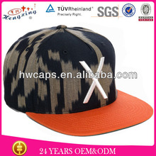 2014 Custom Two Tone Color Puff 3D Embroidery Hip Hop Snapback Cap