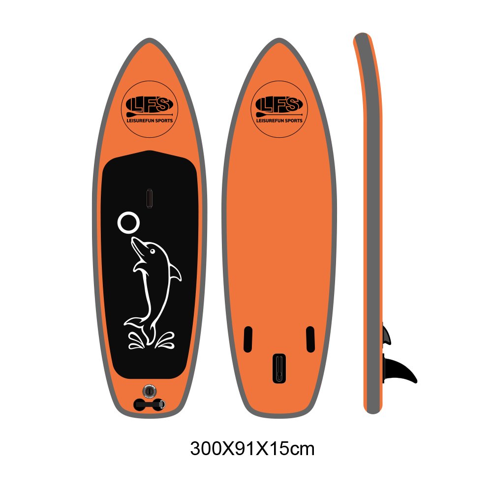 Wholesale factory inflatable paddle sup board windsurf