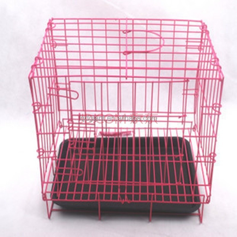 Small dog cages pet cages safe metal material animal cages
