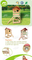 cubby house,children play house, wooden playhouse with window