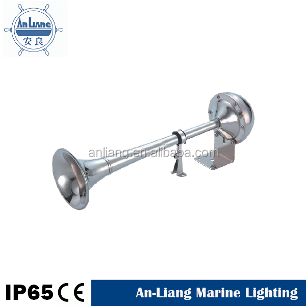 Marine stainless metal unicorn pressure air horn