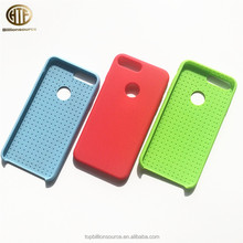 High Quality silicone PC blank mobile phone case for phone7 plus and 8 Plus