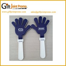 Custom plastic PP noise maker hand clapper