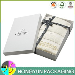 High quality paper gift boxes for towels