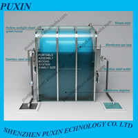 PUXIN mini size Soft bag durable durable biogas plant