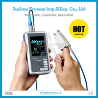 New FDA CE Infant Pulse Oximeter, Oximetro del pulso SPO2 monitor low perfusion, anti-movement