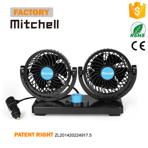 Double headed oscillating car using DC charging fan price
