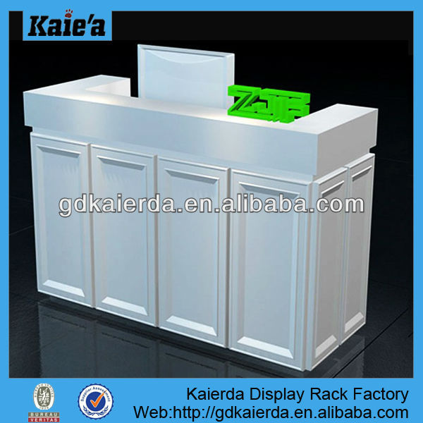 office reception table design/office front counter design