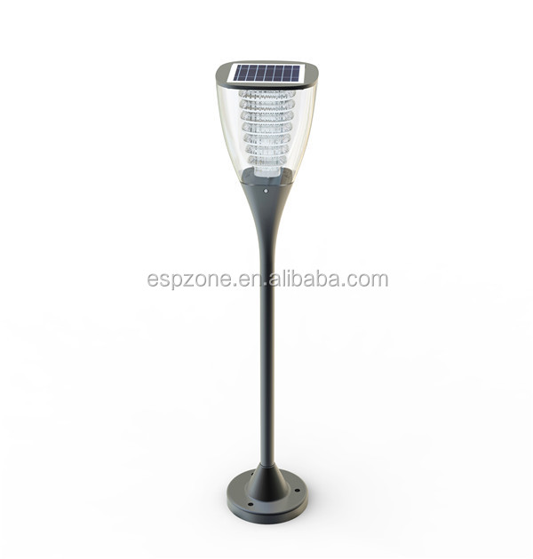 solar powered decoration solar garden led light parts for fence post