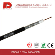 75 ohm coax cable with messenger rg11 coaxial cable for satellite tv