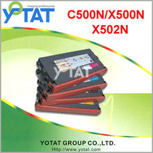Color laserjet toner cartridge for Lexmark C500H2KG/CG/MG/YG