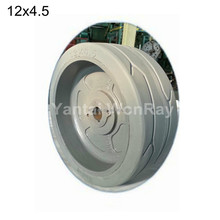 Non Marking 12x4.5 Solid Tire For Genie Aerial Scissor Lift 1930