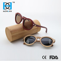 HOT Comfort newest fashion design bamboo sunglass box