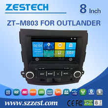 auto parts for mitsubishi outlander accessories with bluetooth radio gps navigation