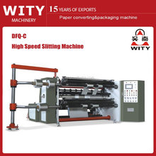 2015 High Speed Slitting Machine for paper and plastic film