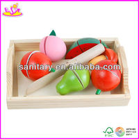 2015 kids educational pretend toy with good quality food W10B037
