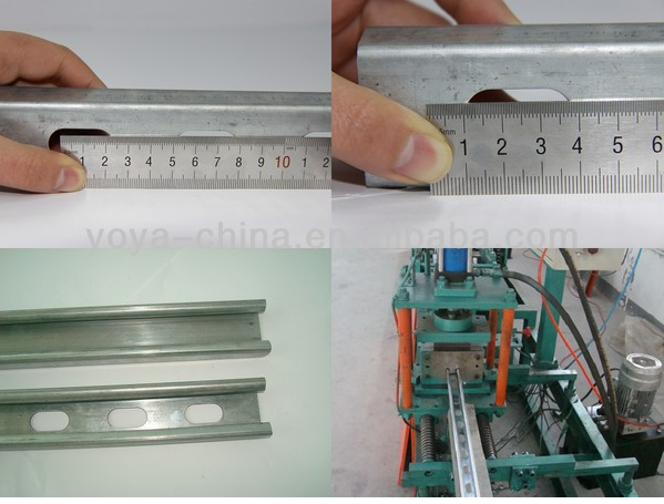 C Slotted Perforated Galvanized Steel Strut Channel