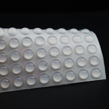 clear silicone adhesive dots
