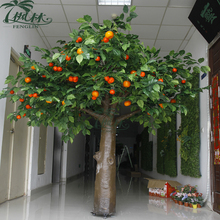 factory wholesale artificial fruit tree customized artificial apple tree