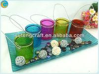 candlesticks restaurant,ramadan lanterns,colored mason jars