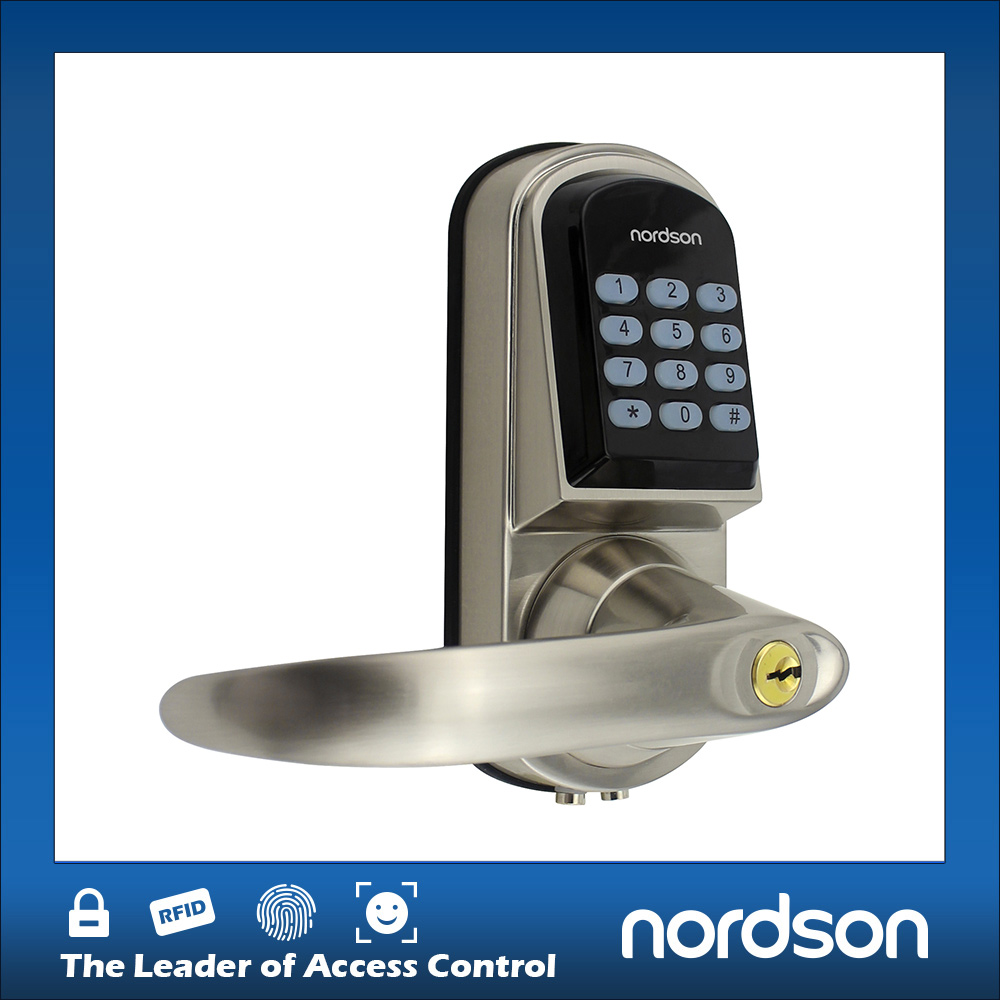 Digital Electronic Door And Handle Keyless Motor Deadbolt Lock