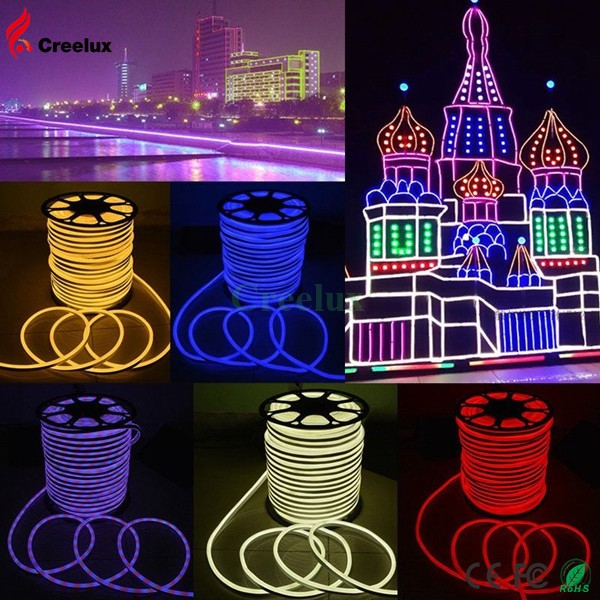 Xmas Outdoor 220-240v flexible Waterproof 100meter led strip light
