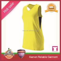 100% dry fit polyester latest basketball jersey design for women