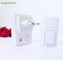 Big brand augreener automatic power supply more music choose family apartment first choice wireless doorbell waterproof durable