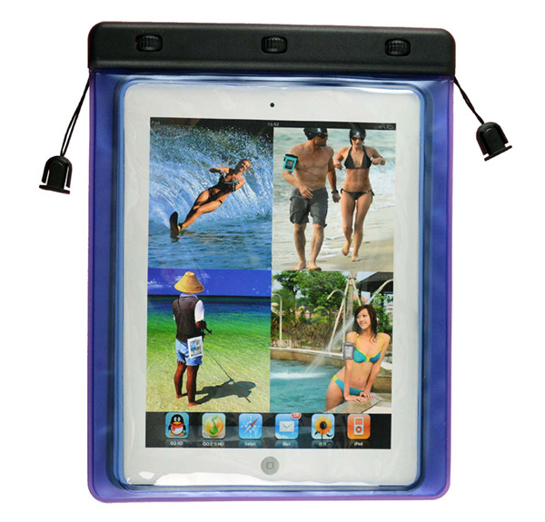 Anticipated new bag factory of waterproof diving bag xundd pu stand case for apple ipad air