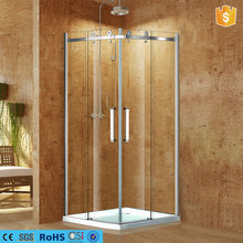 low tray shower renclosure waterproof glass shower enclosure in dubai