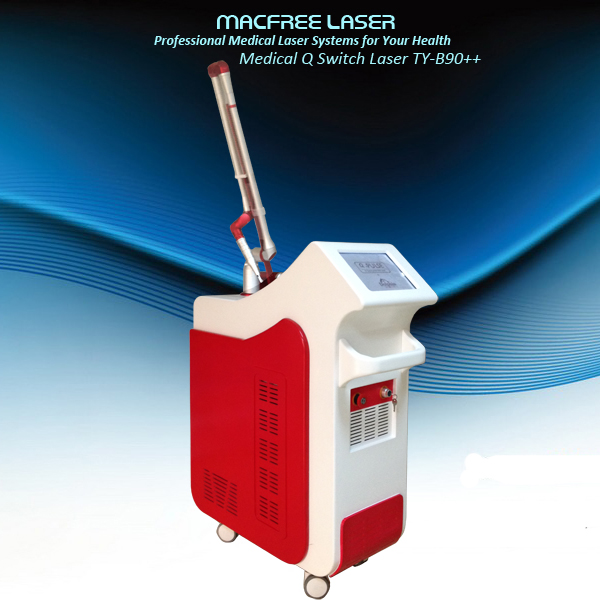 Factory Facial 1064 nm 532nm nd yag laser GHY